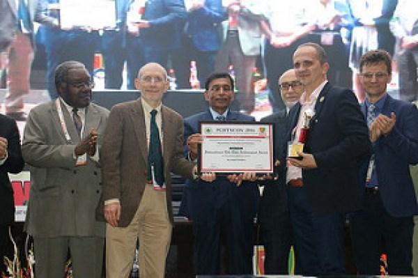Prix Award en février 2016 à l'université de Jaipur