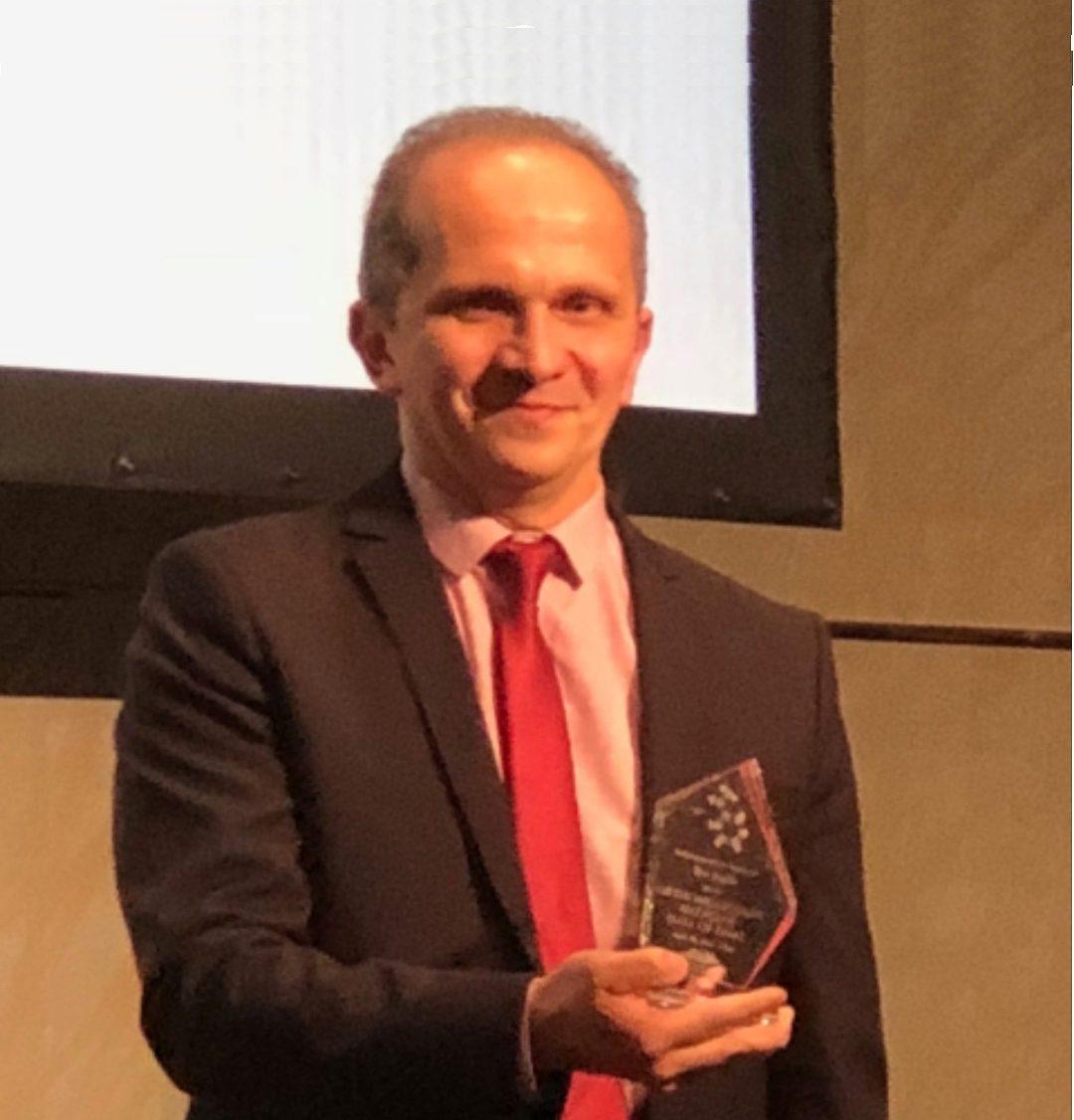 Remise du Prix Hall of Fame de médecine orthomoléculaire au 47ème congrès international de médecine orthomoléculaire.