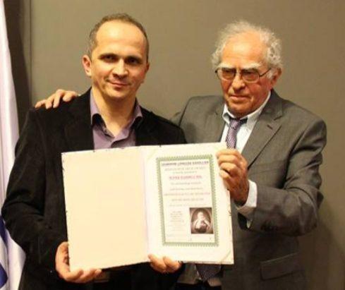 Prix Award de l'institut Antoine Béchamp en janvier 2014.